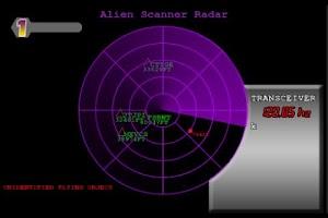 Screenshot of Alien Scanner UFO Radar