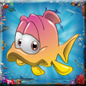 Fishes Memory Cards Game logo