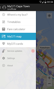 MyCiTi Cape Town- screenshot thumbnail