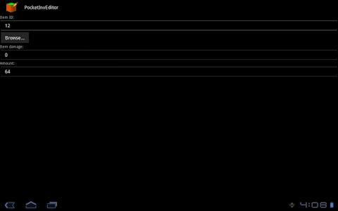 PocketInvEditor v1.17