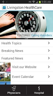 Livingston HealthCare- screenshot thumbnail