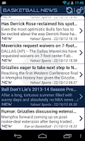 Screenshot of Memphis Basketball News