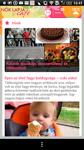 Nők Lapja Café - screenshot thumbnail