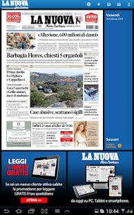 La Nuova Sardegna screenshot