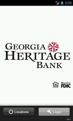 【免費財經App】Georgia Heritage Bank-APP點子