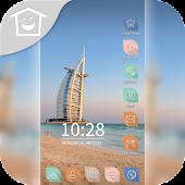 Summer Dubai Beach Sea Theme