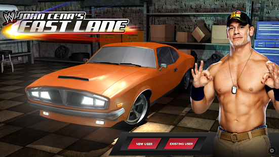 WWE: John Cenas Fast Lane Mod (Unlimited Money) v1.0.1 APK