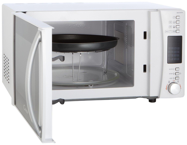 Grande, mutifunción y con un gran acabado externo. Amplio por dentro, trae además una rejilla para usar el grill y plato crisp.