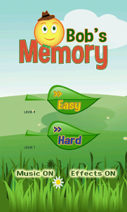 Bob's Memory game - screenshot thumbnail