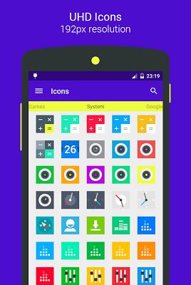 Goolors Square - icon pack - screenshot