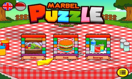 Marbel Puzzle Food Series