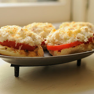 Crab Toasties.