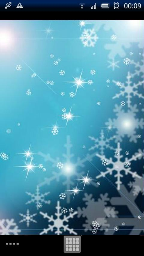 Snow Flakes Live Wallpaper - screenshot