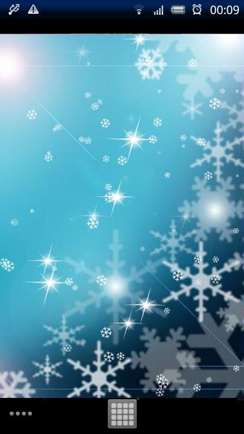 Snow Flakes Live Wallpaper - screenshot