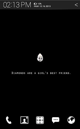 Diamond Atom theme Free
