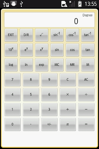簡易関数電卓
