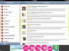Screenshot of English Audio Books - Librivox