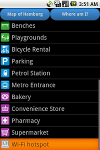 Hamburg Amenities Map screenshot 3