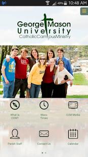 GMU Catholic Campus Ministry screenshot