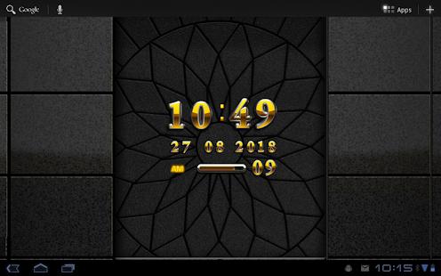 digital clock widget Lotus|玩生活App免費|玩APPs