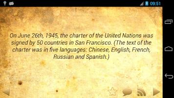 Screenshot of Daily Amazing World Facts