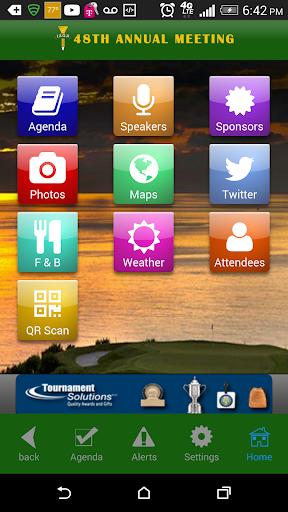IAGA meeting app