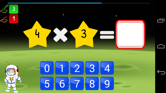 Jeu tables de multiplication applications android sur - Application pour apprendre les tables de multiplication ...