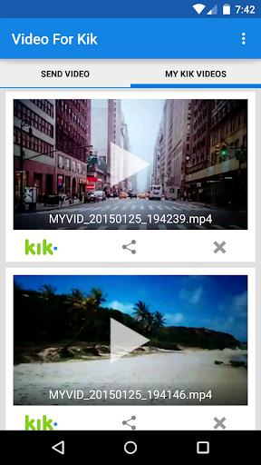 Video For Kik  screenshots 2