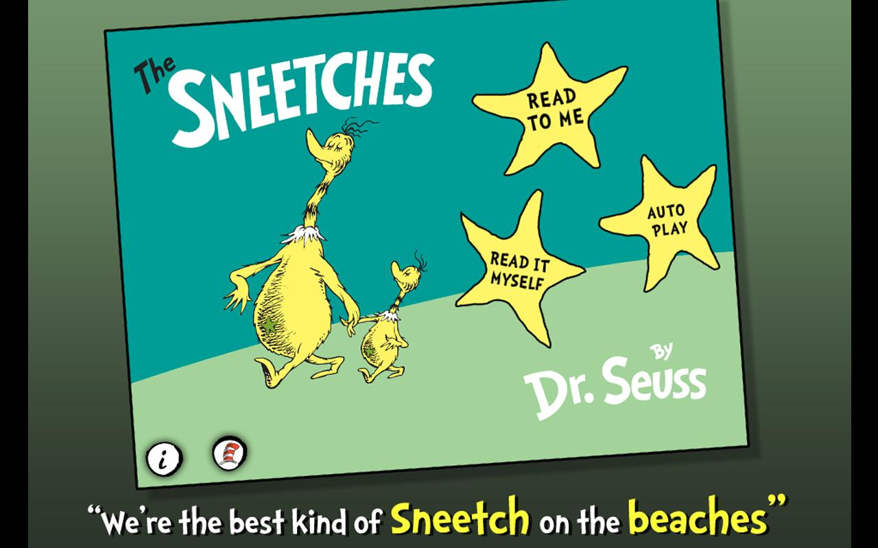 The Sneetches - Dr. Seuss - screenshot