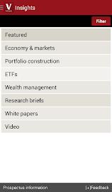 Vanguard for Advisors Screenshot 4