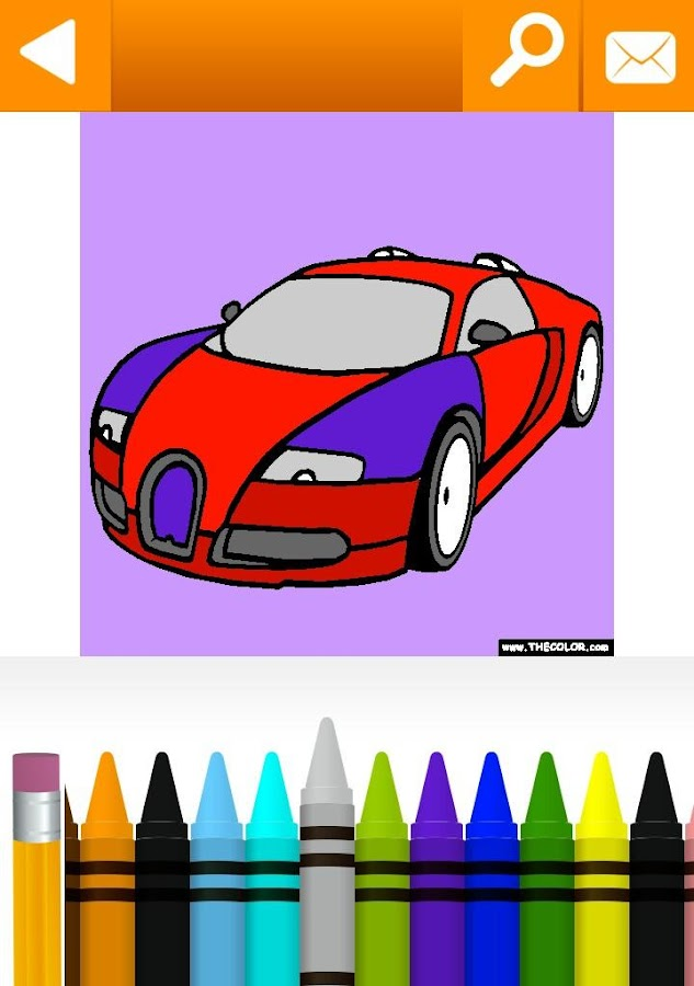 vehicles cars trucks coloring by thecolorcom screenshot - Coloring Pages Cars Trucks