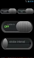 Screenshot of Strobe LED Flashlight