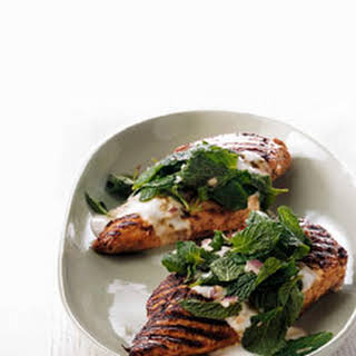 Red Snapper with Cilantro, Garlic, and Lime.