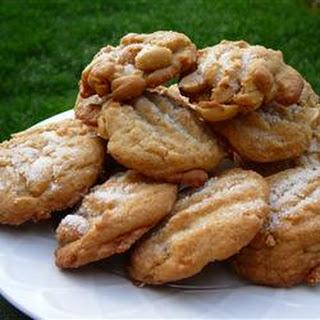 Salted Peanut Cookies.