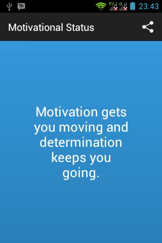 Motivational Status Quotes