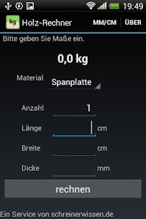 Holz-Rechner - screenshot thumbnail