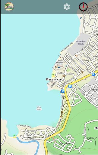 DOMINICAN REPUBLIC NORTH map