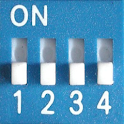 Expander Dip Switch Settings logo