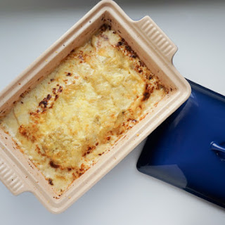 Potato Gratin with Raclette.