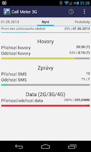 Call Meter 3G: THE monitor app - náhled