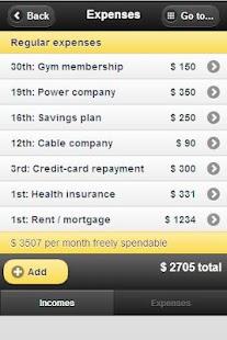 True-Budget Freedom to Spend screenshot