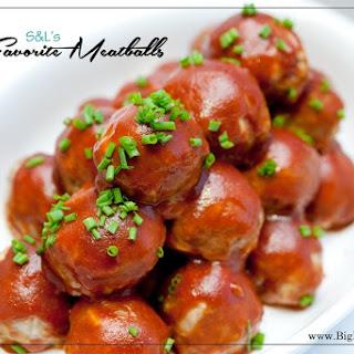 S&L's Favorite Meatballs