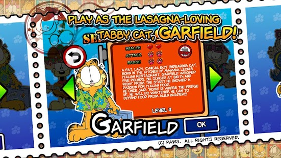 Garfield's Defense 2- screenshot thumbnail