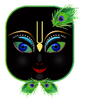 Lord Krishna 3D eye Wallpaper icon