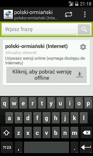 Polsko-Ormiański słownik