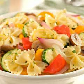 Roasted Herbed Vegetables & Pasta.