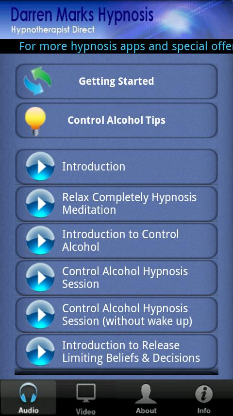 Control Alcohol - screenshot
