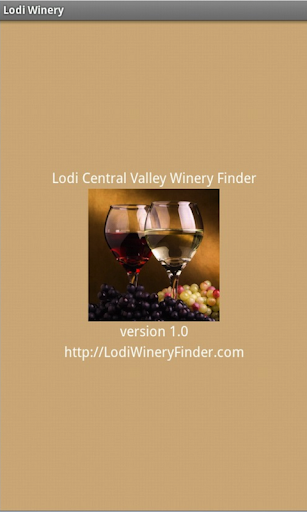 Lodi Winery Finder for Tablets