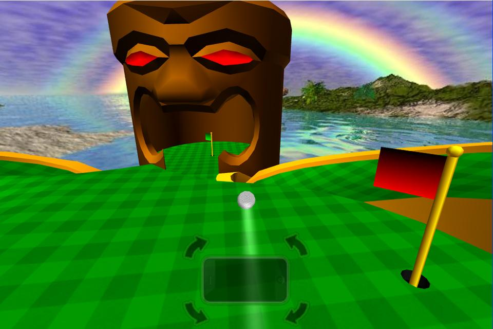 Tiki Golf 3D FREE- screenshot