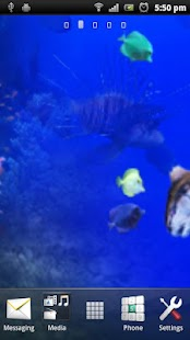 Aquarium Live Wall Paper 3D - screenshot thumbnail